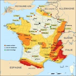 Evaluation de la situation sismique du parc nucléaire français